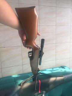 Flover Rifle De 5,5 Mm Con Mira Telescópica