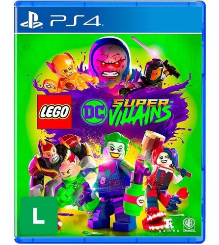 Lego Dc Super Villains Vilões  Mídia Física Novo Português