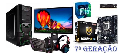 Pc Gamer I5 7 Geração + Monitor Dell 23,4 + 8 G Memoria Ram