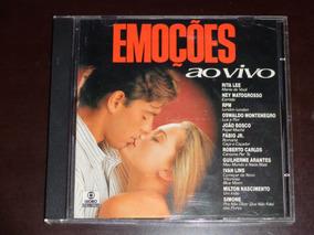 Cd Emoçoes Ao Vivo Som Livre 1992 Rpm Rita Lee Fabio Jr Simo