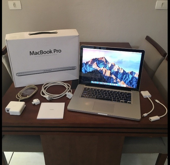Macbook Pro 15 Polegadas + Case Brinde