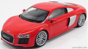 Audi R8 Coupe 2017 1/18 Welly