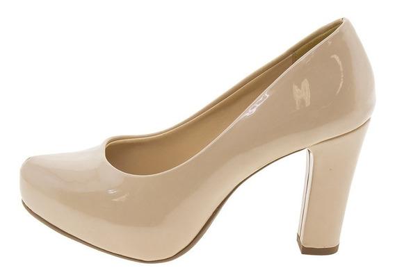 Sapato Feminino Salto Alto Pele Mixage - 1586650