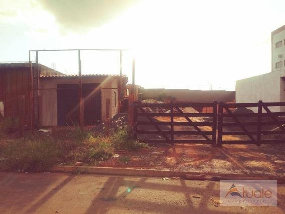 Terreno À Venda E Locação, 730 M² - Parque Ortolândia - Hortolândia/sp - Te0653