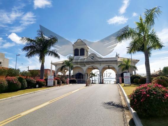 Terreno No Condomínio Ibiti Reserva - Sorocaba - 250 M² - 10 X 25 - Plano - Tc00096 - 67776336