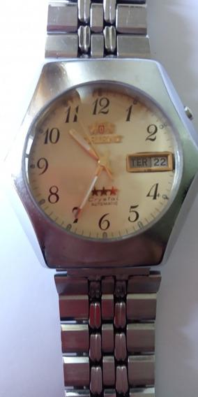 Relógio Orient Automático Amarelo