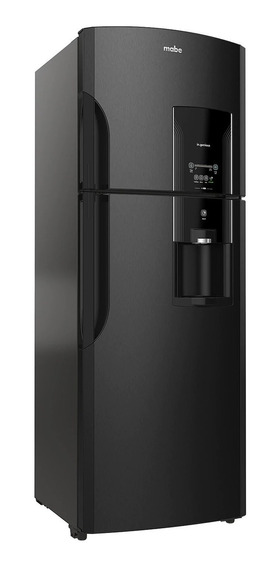 Refrigerador Mabe RMS400IBMR black stainless steel con freezer 400L
