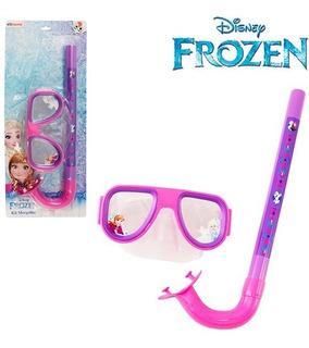 Oculos De Natacao / Mascara De Mergulho E Snorkel Frozen