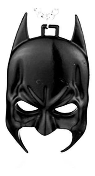 Colar Masculino Dc Comics Máscara Do Batman Homem Morcego