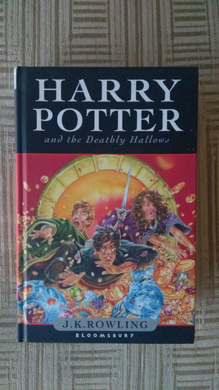 Harry Potter And The Deathly Hallows J.k.rowling (inglês)