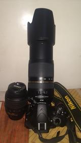 Nikon D3200 Lente 18-55 Poucos Cliques Excelente Estado