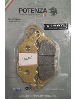 Pastilha De Freio Potenza Ptz464kxt - Ybr125 Factor 2007-201