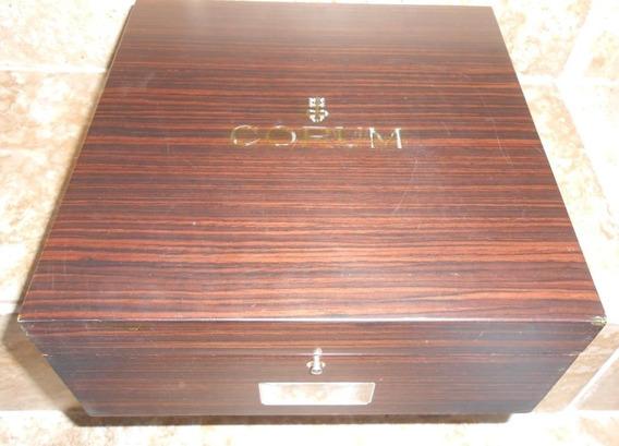 Estuche Original Caja De Madera De Reloj Corum Gigante