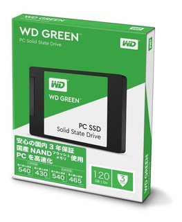 Ssd 120gb Western Digital Green