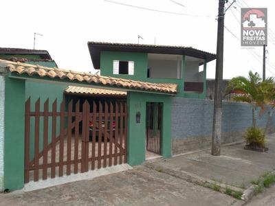 Sobrado Residencial Para Locação, Jardim Jaqueira, Caraguatatuba. - So1156