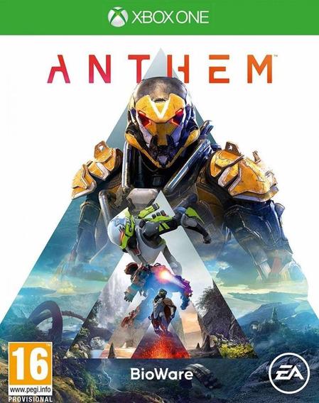 Game Anthem Br - Xbox One Midia Física