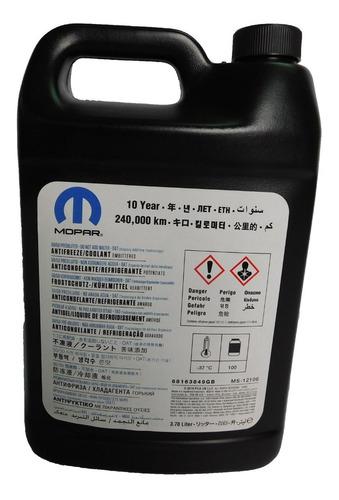 Imagen 1 de 4 de Liquido Refrigerante 10 Años Original Mopar Bidon 3.78lts