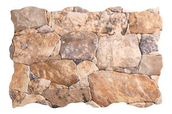 Revestimiento Simil Piedra Porcelanato Riba Mix Por Pieza