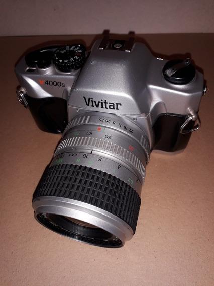 Câmera Fotografica Vivitar V4000s Analogica E Lente 35-70