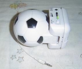 Caixinha De Som Em Forma De Bola De Futebol.