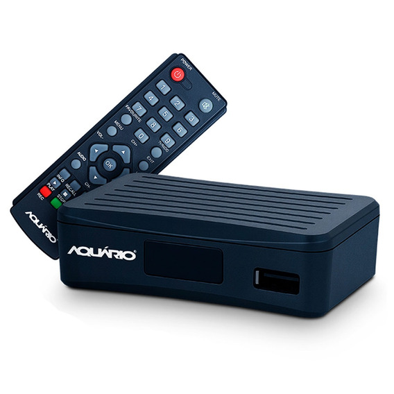 Conversor Digital Tv Aquario Dtv-4000 4g Hdmi Rca Gravador