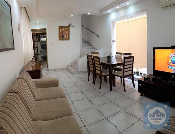 Casa Com 3 Dormitórios À Venda, 190 M² Por R$ 760.000 - Campo Grande - Santos/sp - Ca0774