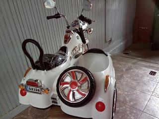 Moto Chopera Con Sidecar (abitaculo Para Acompañante)boble B