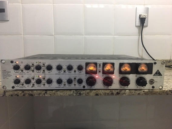 Pré Amplificador Valvulado Behringer T1952 - Leia