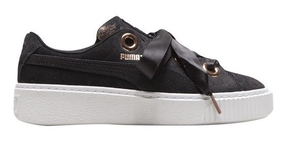 Zapatillas Puma Moda Platform Kiss Artica Wn S Mujer Ng/br