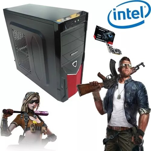 Cpu Gamer 4gb Intel Core 2 Duo + Placa De Video 1gb Promocao