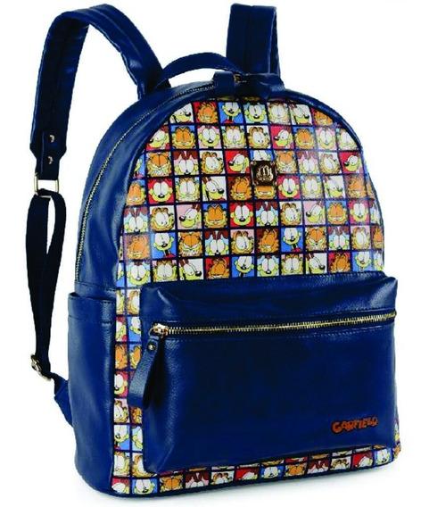 Mochila Luxcel - Garfield Ms45231gf Azul