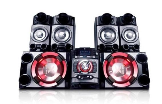 Mini System Lg Cm9520 1700w Rms Som Radio Potente