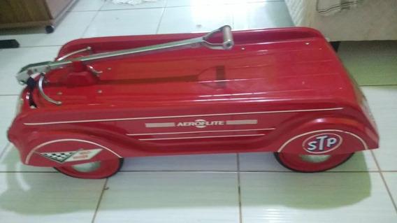 Pedal Car Antigo Aeroflite Harley Davidson