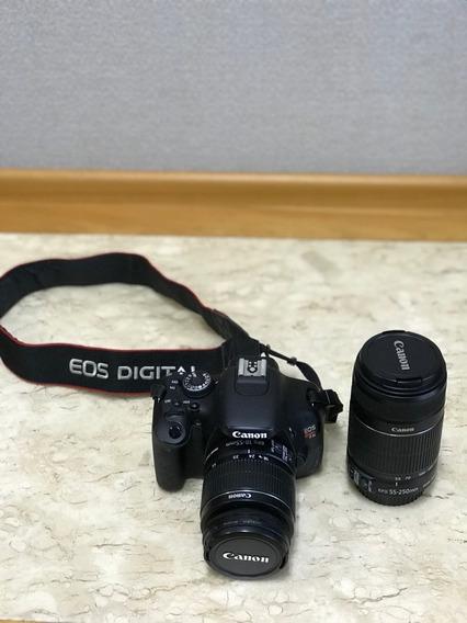Câmera Canon T3i - Semi Nova