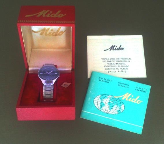 Relógio Mido Único Dono Automático Swiss Completo Original
