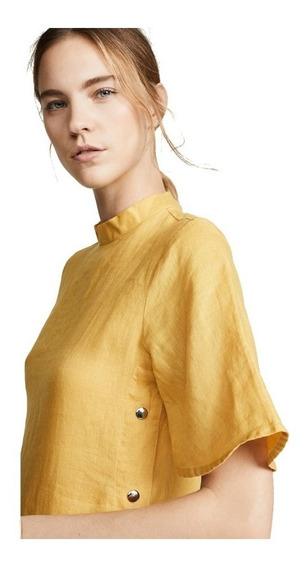 Diseño. Vestido Mustard Importado Mujer Medio Casual Tarde