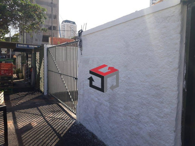 Terreno Para Alugar, 450 M² Por R$ 6.000/mês - Vila Assunção - Santo André/sp - Te4716
