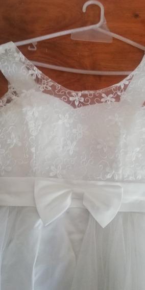 Vestido De Novia Blanco Talla M O 2
