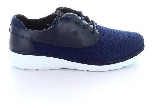 Tenis Para Hombre Quirelli 89201-047124 Color Azul