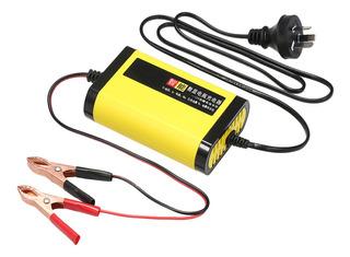 Cargador De Batería De Coche Moto 12v 2a Completo Automático