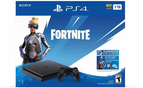 Play Station Ps4 Slim 1tb + Fortnite