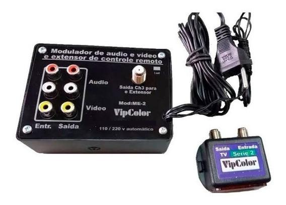 Extensor De Controle Remoto + Modulador Incluso.