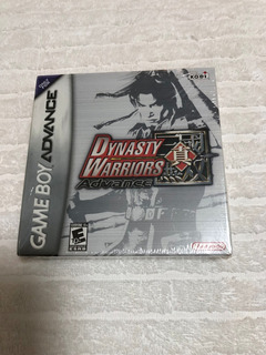 Dynasty Warriors Advance (nintendo Game Boy Advance, 2005)