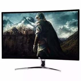 Monitor Gamer Curvo 24 Mtek M24 144hz Com Cabo Display Port