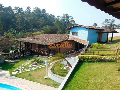 Chácara Com 2 Dorms, Recreio Primavera, Itapecerica Da Serra - R$ 750 Mil, Cod: 1719 - V1719