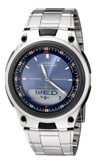 Relógio Casio Aw 82d-2avdf. 50 Metros. 100% Original.