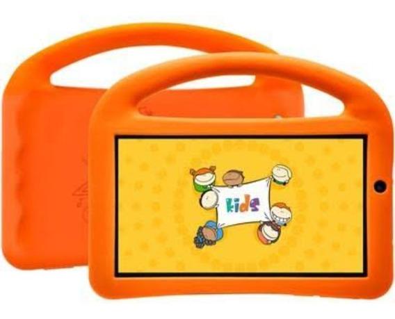 Tablet Kids,tela De 7, 8gb, Wi-fi,quad Core Com Capa