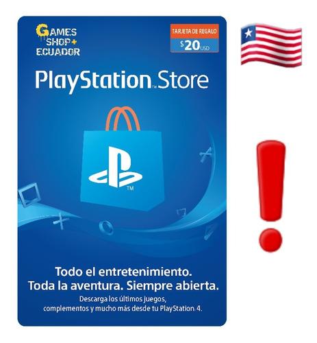 Tarjetas Playstation Psn Card Usa Plus $ 10 20 25 50 60 100
