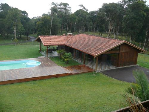 Área À Venda Com 245000m² Por R$ 3.500.000,00 No Bairro Morro Vermelho - Tijucas Do Sul / Pr - Ney-ch0009