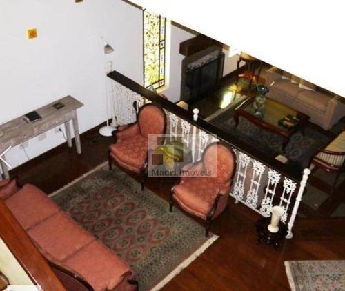 Imagem 1 de 11 de Sobrado Com 4 Dormitórios À Venda, 349 M² Por R$ 3.500.000 - Alto De Pinheiros - São Paulo/sp - So0161